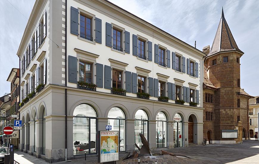 Ferrari architectes h tel de ville de morges bureau d - Bureau de service national du lieu de recensement ...