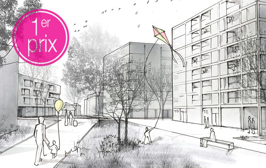 Ferrari architectes 1er prix au concours vernier concorde l gen ve bureau d architecture - Bureau architecte geneve ...