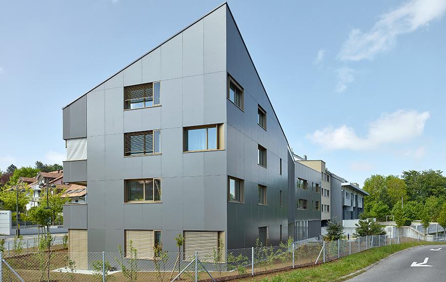 Remise des clés du bâtiment de logements protégés à Epalinges