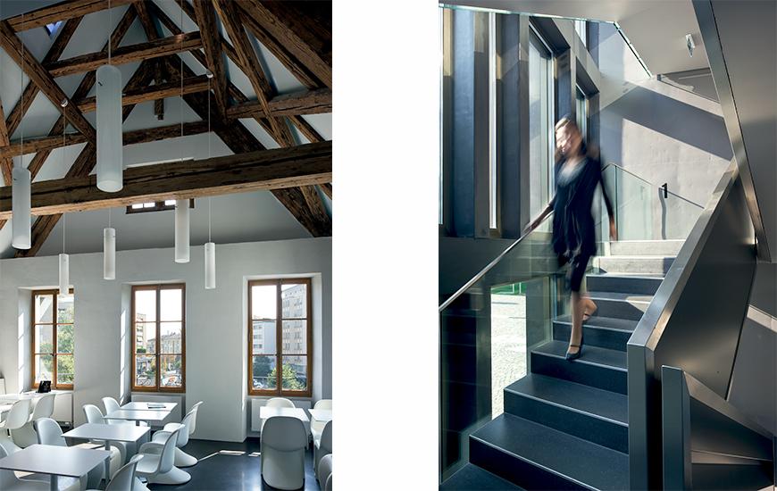 Ferrari architectes prilly castle bureau darchitecture