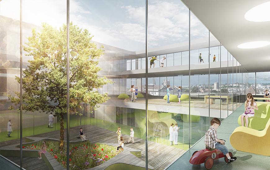 Ferrari Architectes Chuv H Pital Des Enfants Bureau