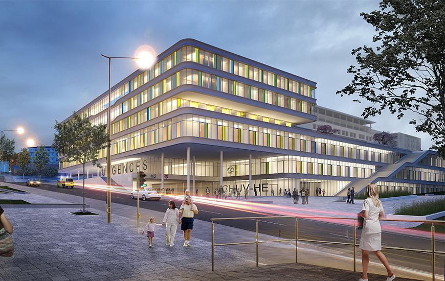 Prix D Une Ferrari >> Ferrari Architectes | CHUV - Hôpital des Enfants | Bureau d'architecture, Lausanne - Architecte ...