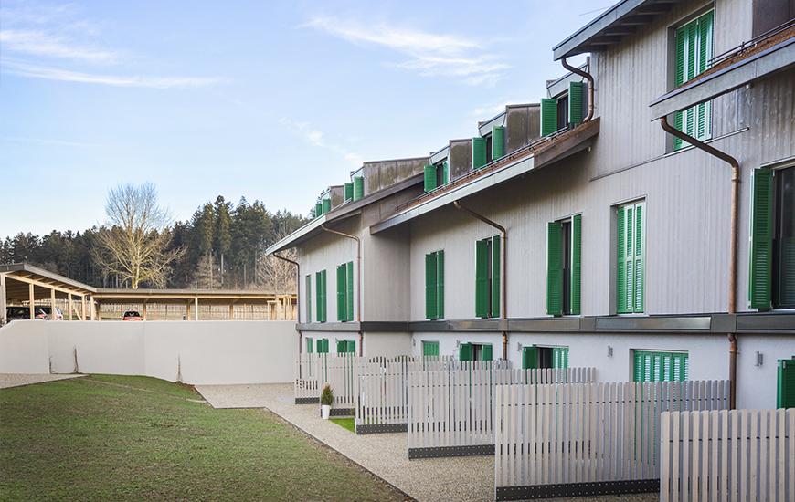 Ferrari architectes hameau de penau bureau d for Architecte lausanne