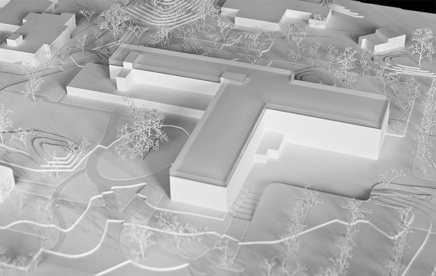 Ferrari architectes lavigny hospital bureau darchitecture