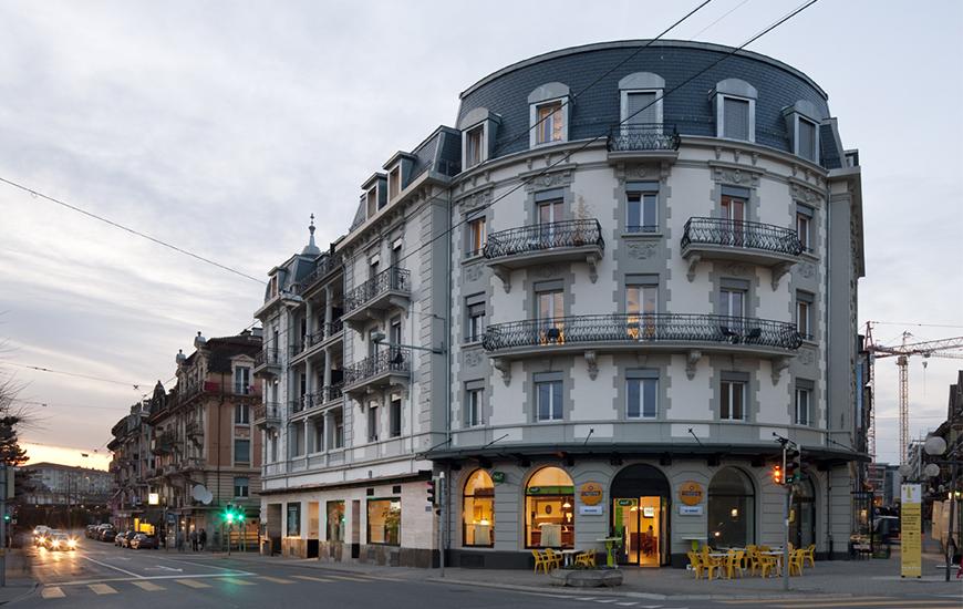 Ferrari architectes rue de lausanne 21 bureau d for Architecte lausanne