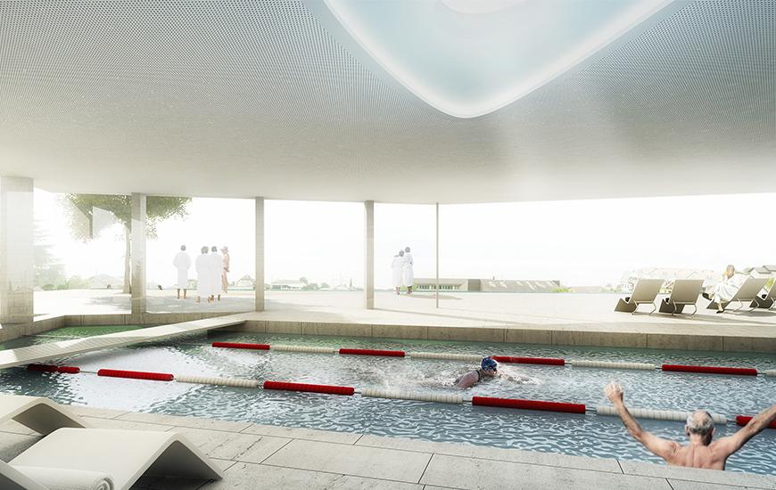 Ferrari architectes hôpital de lavaux bureau darchitecture