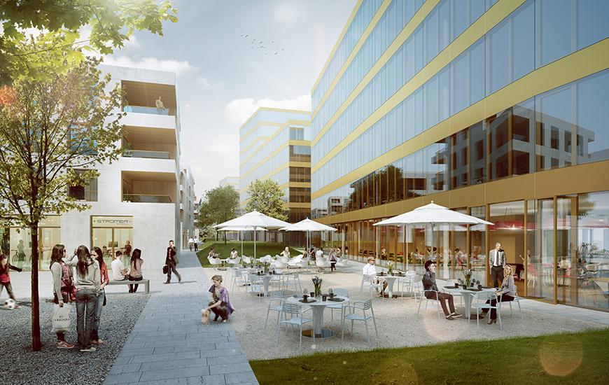 Ferrari architectes parc du simplon bureau d architecture