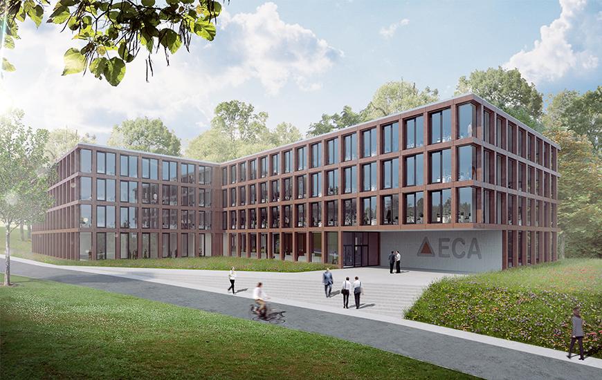 Ferrari architectes eca grangettes bureau d for Architecte lausanne