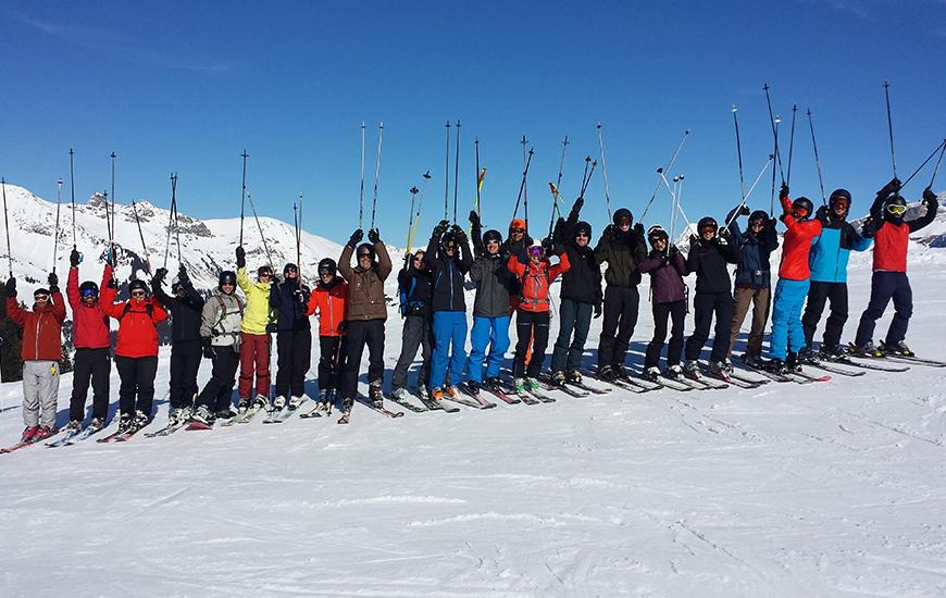 Journée ski à Villars