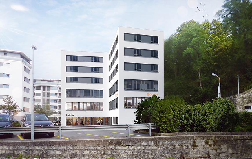 Ferrari architectes b timent polyval bureau d architecture