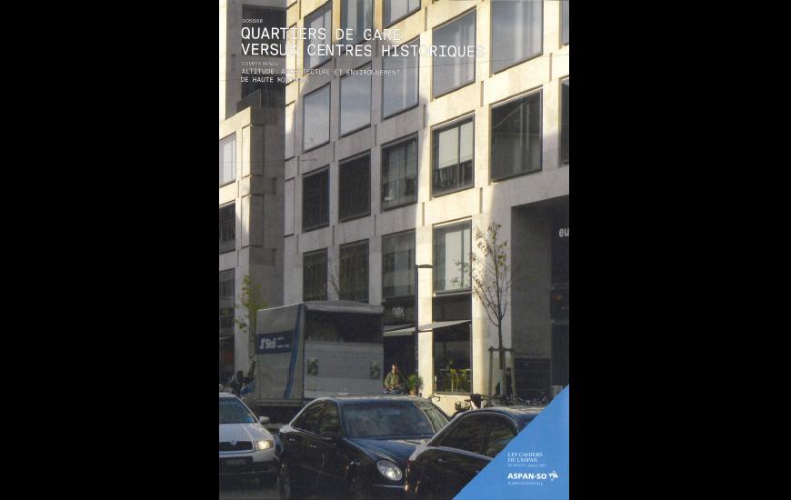 Ferrari architectes cahiers de l aspan bureau d architecture