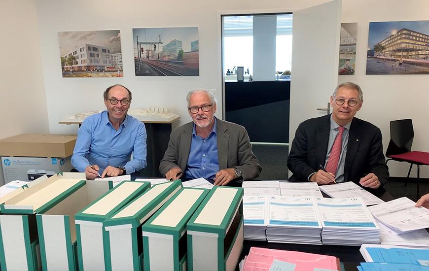 Mise à l'enquête du nouveau Foyer à Lausanne