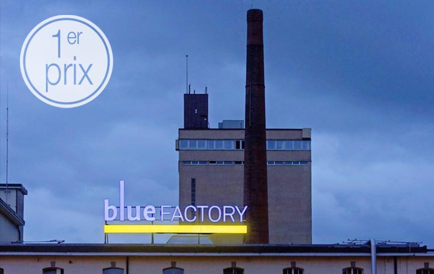 1er prix pour le bâtiment B de blueFactory à Fribourg
